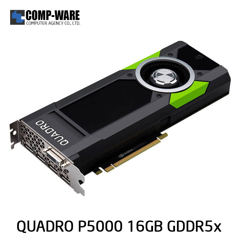 Leadtek Nvidia Quadro P5000 Workstation Graphics Card