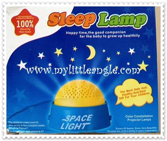 พร้อมส่ง ดรีมไลท์จิ๋ว sleep lamp มีไฟ มีเพลง ส่งฟรี
