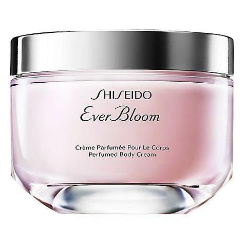Shiseido Ever Bloom Perfumed Body Lotion 200ml มอบความชุ่มชื่นให้ผิวกาย เนื้อสัมผัสที่บางเบา สบาย เรียบลื่น ไม่เหนียวเหนอะหนะ พร้อมกลิ่นหอม สำหรับสาวโมเดิร์น Ever Bloom Perfumed Body Lotion กลิ่นหอมหรูหรา สดใส เบาสบาย ดุจดอกไม้แรกแย้ม ของคามิเลียสีขาว สะท