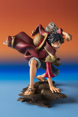 Luffy ของแท้ JP แมวทอง - Episode of Characters Bandai [โมเดลวันพีช]