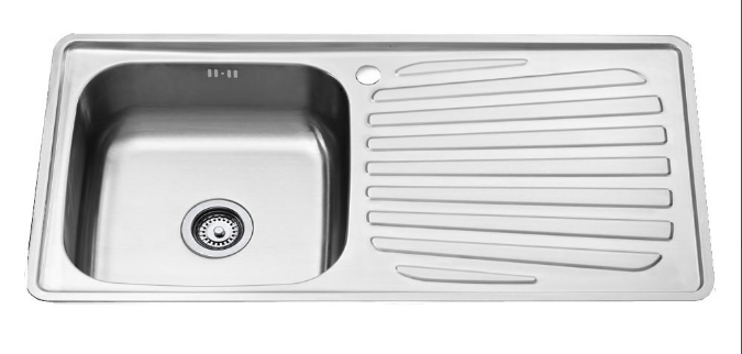 อ่างล้างจาน Teka T50 1B 1D สแตนเลส+ก๊อกน้ำ
