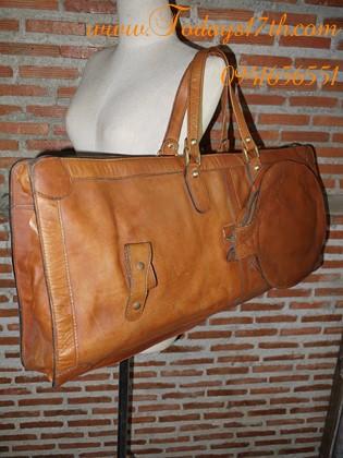 กระเป๋าหนังแท้ใส่ไม้แบตและสัมภาระ