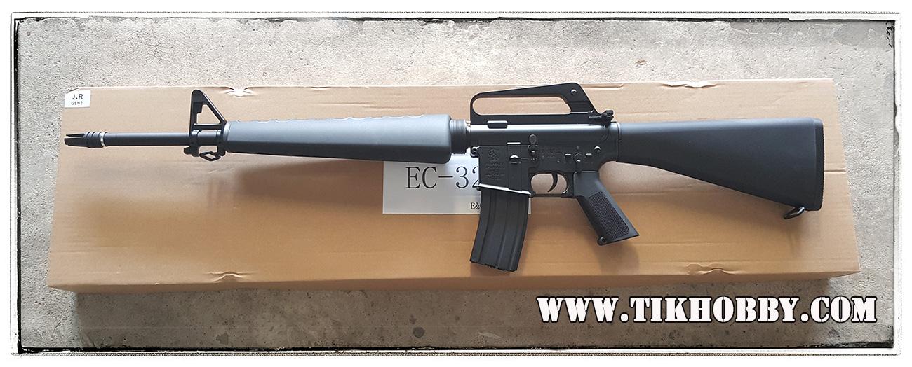 ปืนอัดลม ไฟฟ้า จาก E&C รุ่น 320S หรือ M16A1 เวียดนาม