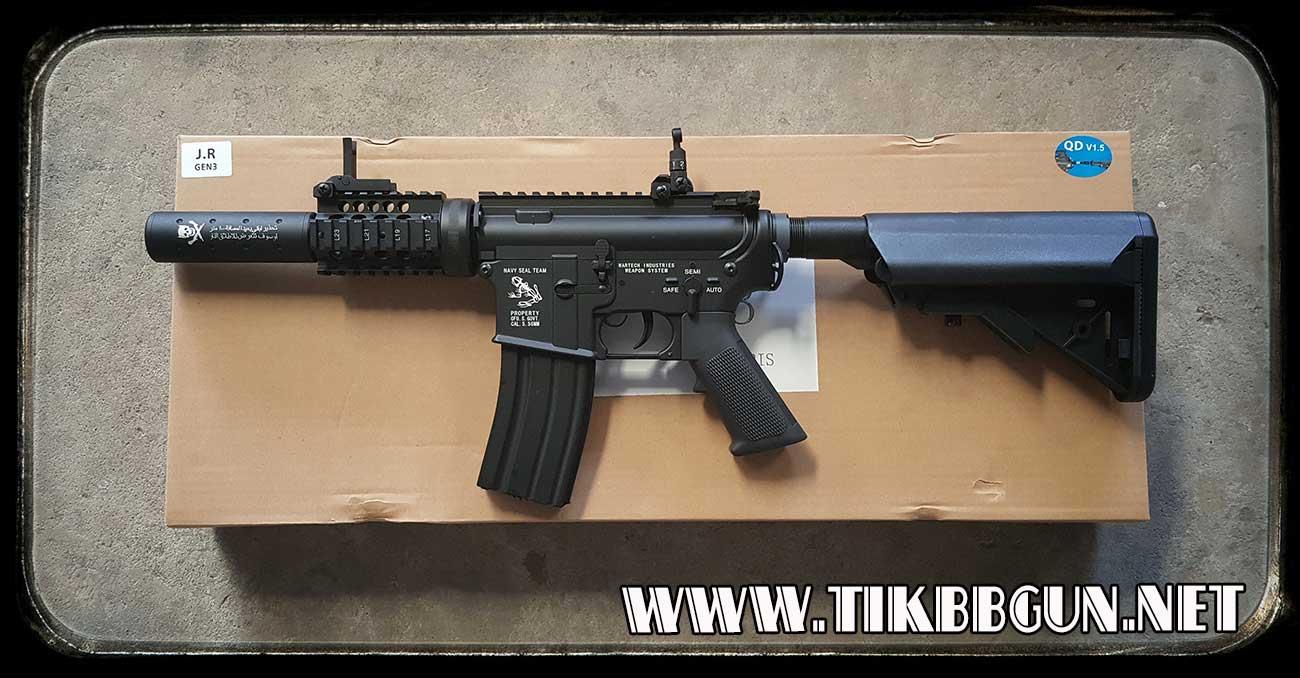 ปืนอัดลมไฟฟ้า M4 จาก E & C รุ่น 623S