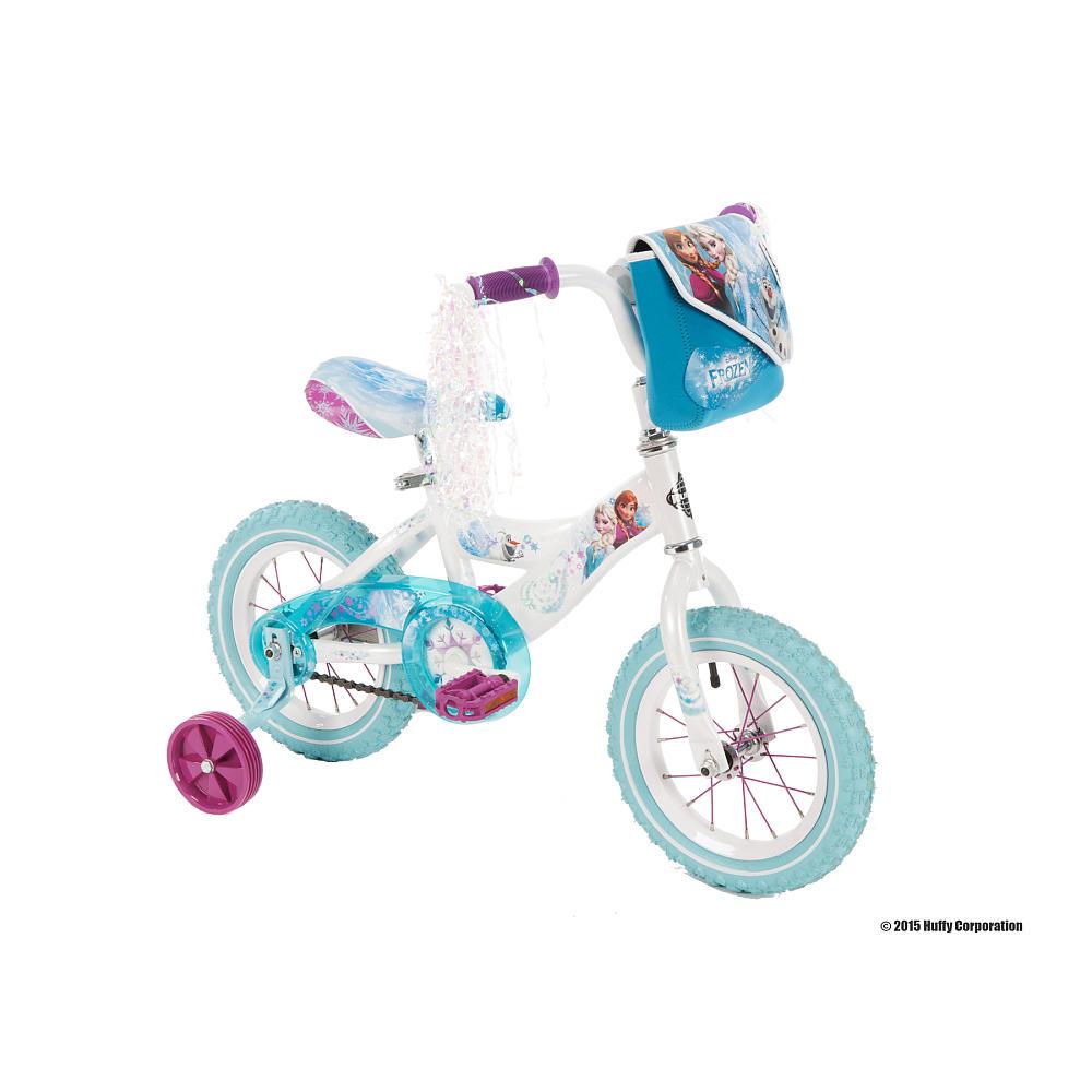 จักรยานโฟรเซ่น 4 ล้อ Girls 12 Inch Huffy Disney Frozen Bike หวานแหวว น่ารัก ไม่มีใครเหมือน