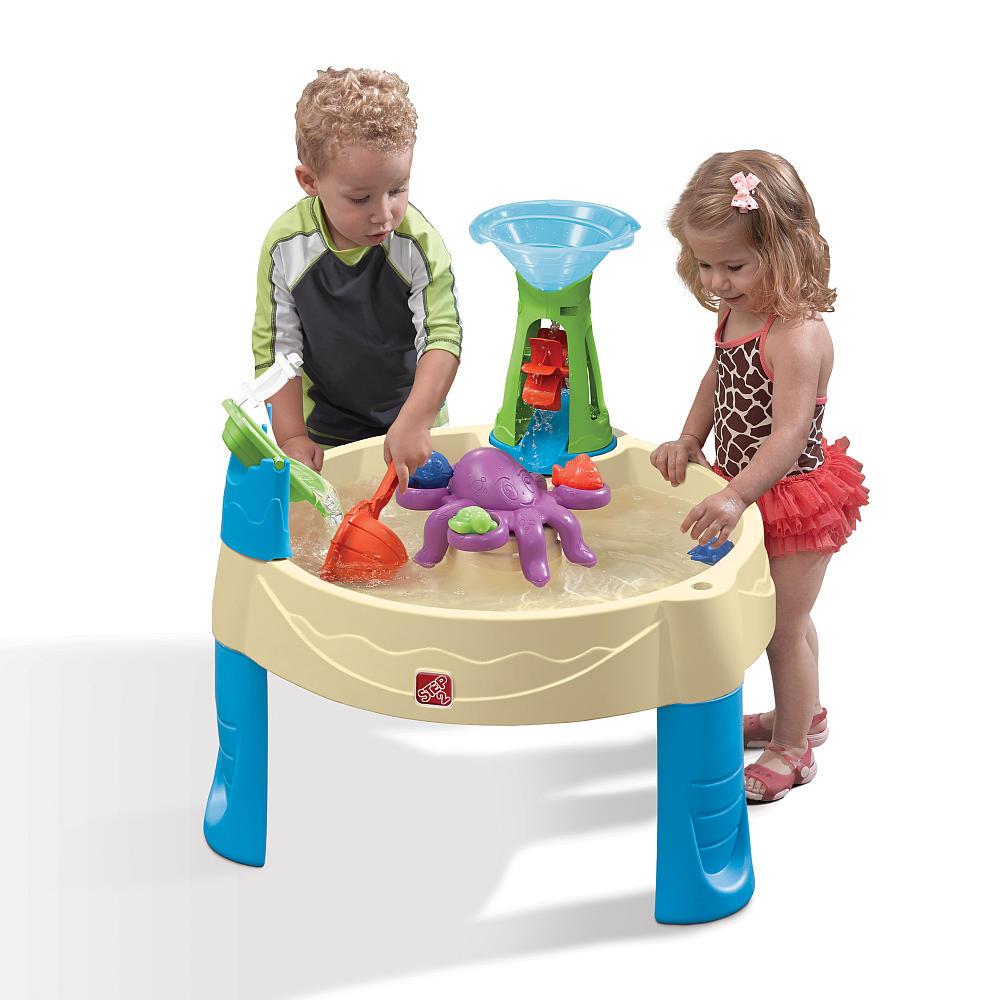 โต๊ะเล่นน้ำ Step2 Wild Whirlpool Water Table มาพร้อมปลาหมึกยักษ์