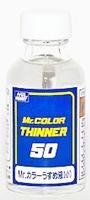T-101 MR.COLOR THINNER 50 ml. ทินเนอร์อ่อนๆ สำหรับผสมสีทำโมเดล