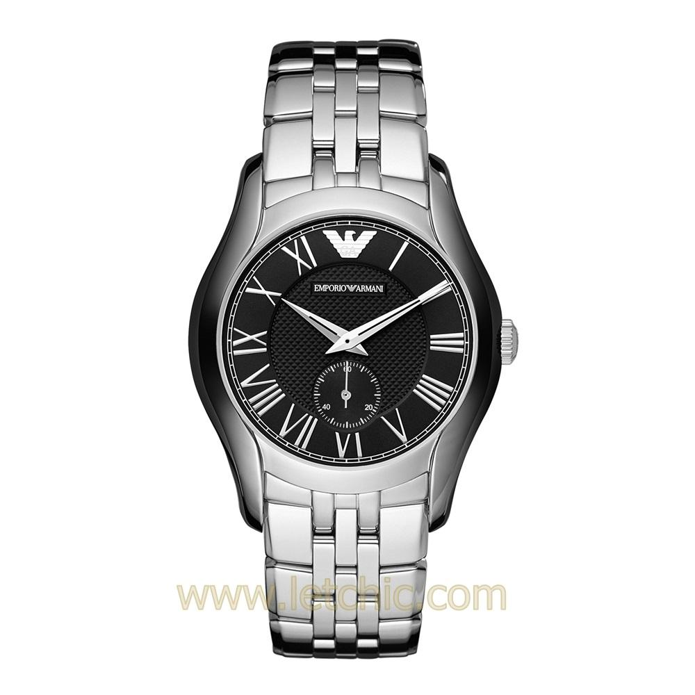 นาฬิกา Armani รุ่น AR1710 นาฬิกาข้อมือผู้หญิง สายสแตนเลส สีเงิน แบบเงา ของแท้ ประกันศูนย์ไทย 2 ปี ส่งพร้อมกล่อง และใบรับประกัน