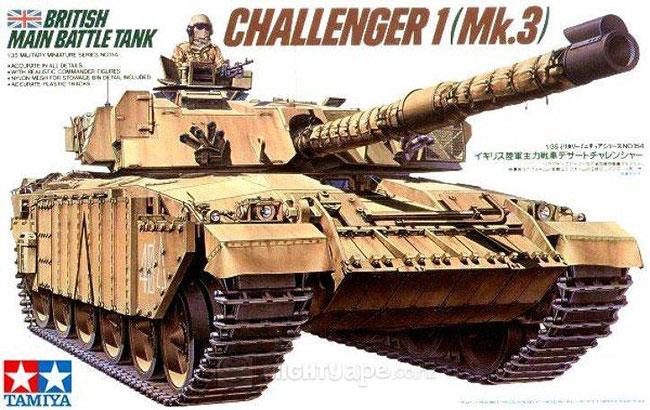 รถถัง CHALLENGER 1(Mk3) 1/35 Tamiya (TA35154 )