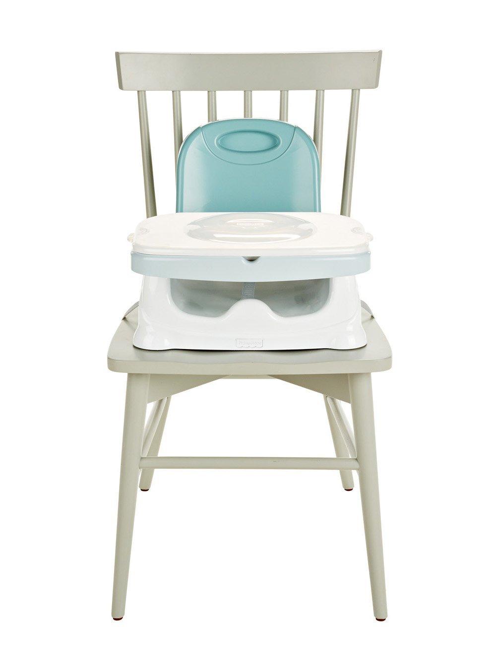 เก้าอี้เสริมทานข้าวเด็ก พร้อมถาด 3 ชั้น สีใหม่ล่าสุด Fisher Price-Healthy Care Deluxe Booster Seat