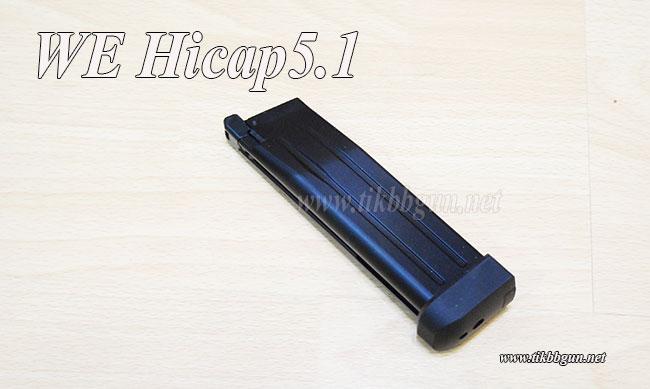 แม๊กสำหรับปืนแก๊ส Hicapa 4.3,5.1 WE ของแท้