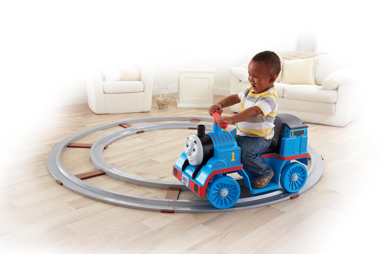 รถแบตฯโทมัสพร้อมราง Fisher-Price Power Wheels Thomas & Friends Thomas with Track
