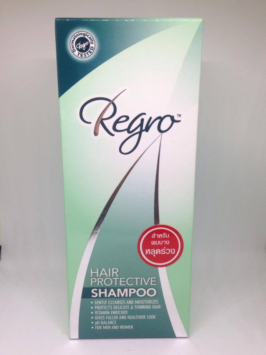 Regro Hair protective shampoo รีโกร แฮร์ โพรเทคทีฟ แชมพู 200 มล.
