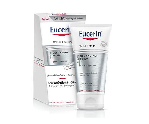 Eucerin White booster cleansing foam