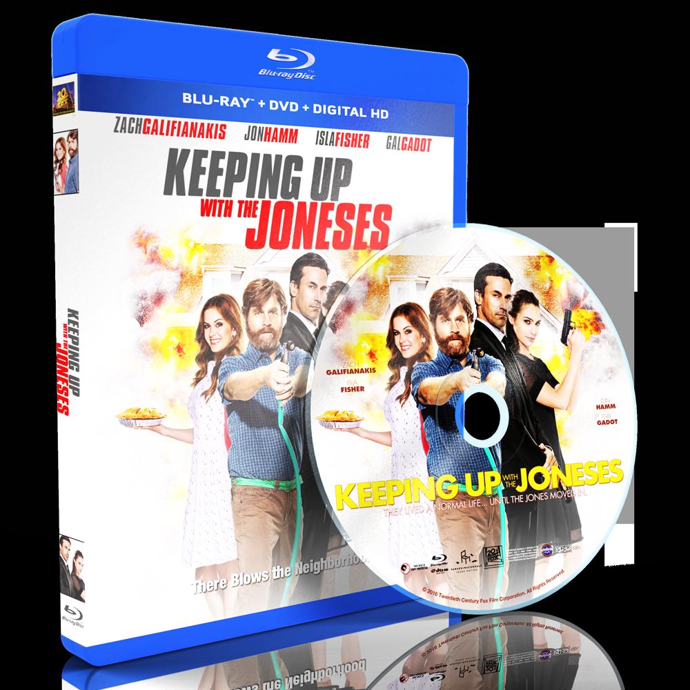 U2016087 - Keeping Up with the Joneses (2016) [แผ่นสกรีน]