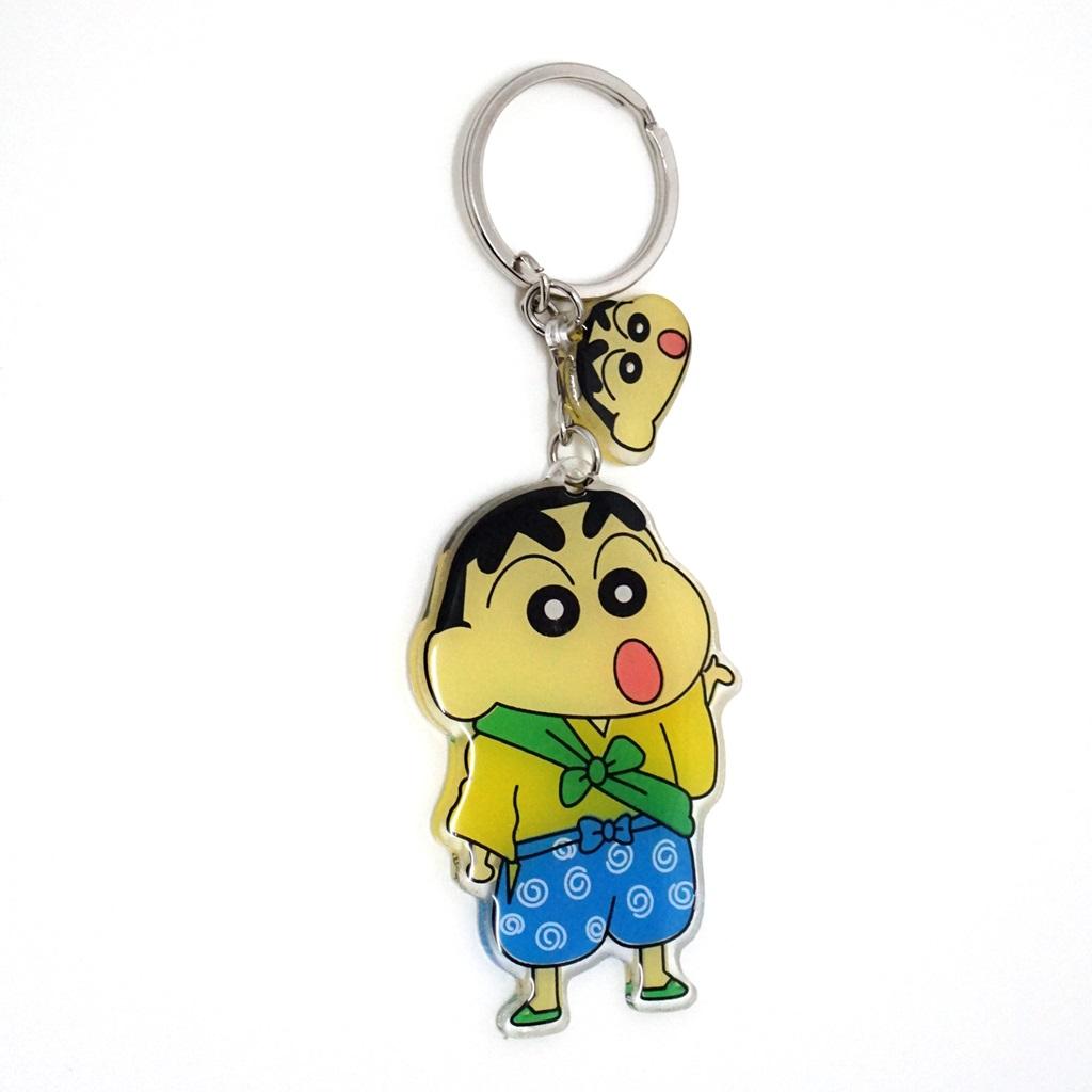 พวงกุญแจอะคริลิค ชินจังจอมแก่น 12อัน