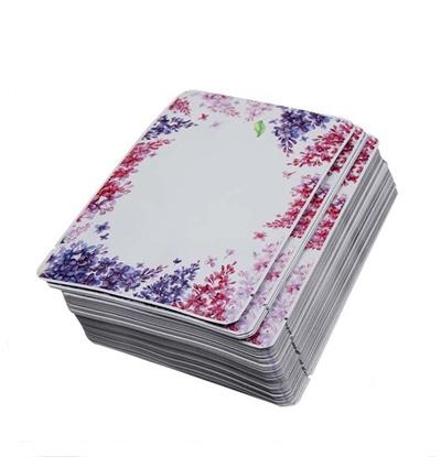 ซองฟอยล์ลายดอกไม้ชมพู-ม่วง 9x13 cm. 100 ชิ้น : 1A004539