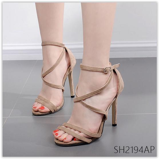 Pre รองเท้าส้นคัทชู ส้นสูง แฟชั่น ราคาถูก มีไซด์ 35-40