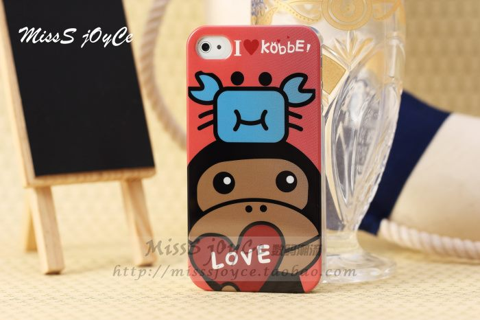 I Love Kobbe ลายลิง สำหรับ iphone4 4s