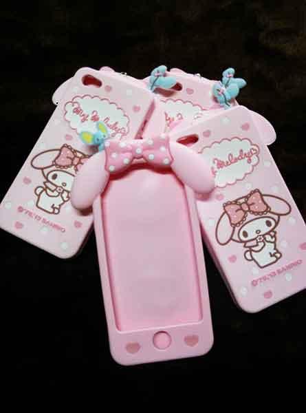 case iphone 5/5s ซิลิโคน มายเมโลดี้