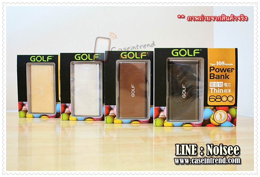 Power bank - Golf GF-108 6800 mAh