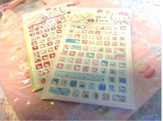 Hello Kitty Sticker ติดแป้น keyboard by Sanrio Korea ค่ะ