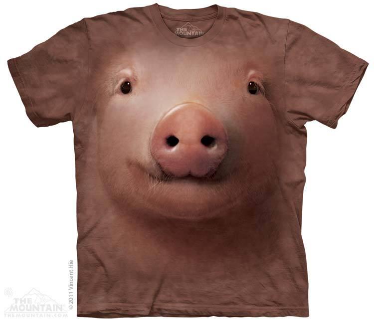 เสื้อยืด3Dสุดแนว(PIG FACE T-SHIRT)