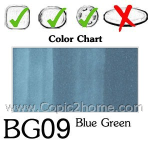 BG09 - Blue Green