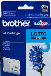 BROTHER INK CARTRIDGE LC-37C สีฟ้า