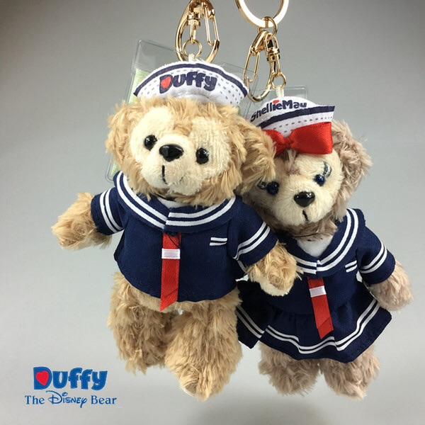 น่ารักมากๆ พวงกุญแจตุ๊กตา The duffy bear by Tokyo Disney Sea