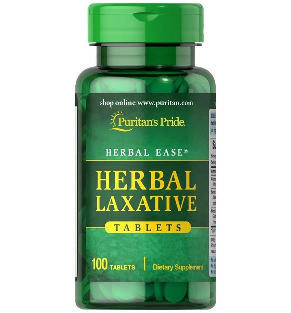 Puritan's Pride Herbal Laxative / 100 Tabs
