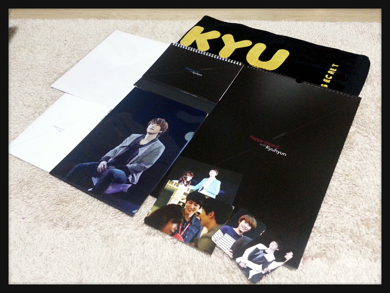 2013 Happy Record with Kyuhyun Calendar