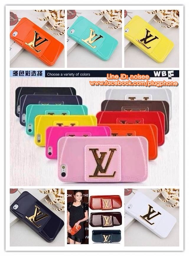เคส iPhone5s /5 Louis Vuitton TPU นิ่ม