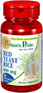 Puritan's Pride - Red Yeast Rice 600 mg 30 Capsules