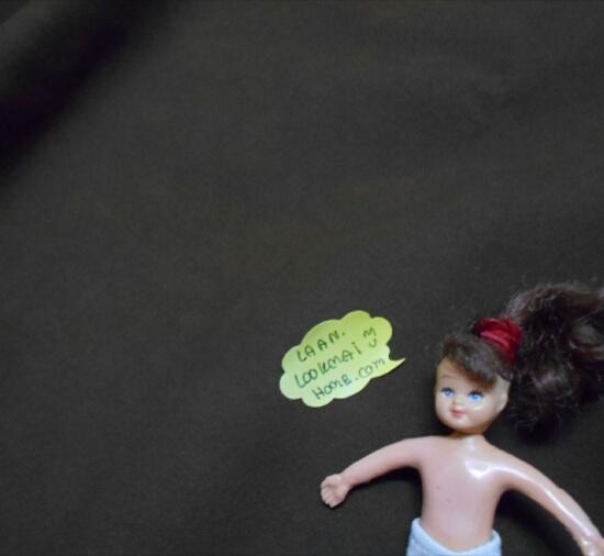 LH26 : ผ้าหนังสีน้ำตาลผิวหน้าด้านคล้ายหนังจริง แบ่งขาย 1 หน่วย = ขนาด1/4 หลา : 45X 65 cm