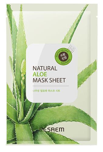 The Saem natural aloe mask sheet สำเนา สำเนา