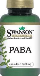 Swanson Vitamins - PABA 500 mg 120 Capsules