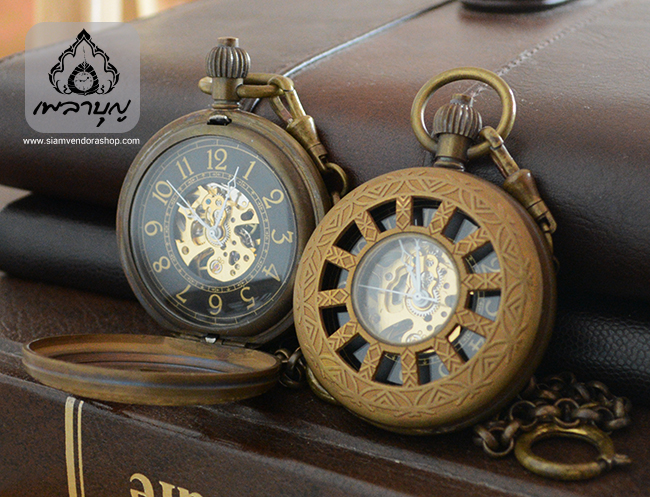 ชุดนาฬิกาแบบพกพาลายธรรมจักร