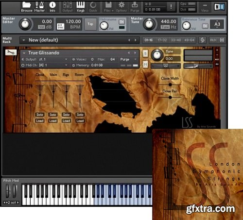 ARIA Sounds London Symphonic Strings Double Basses KONTAKT