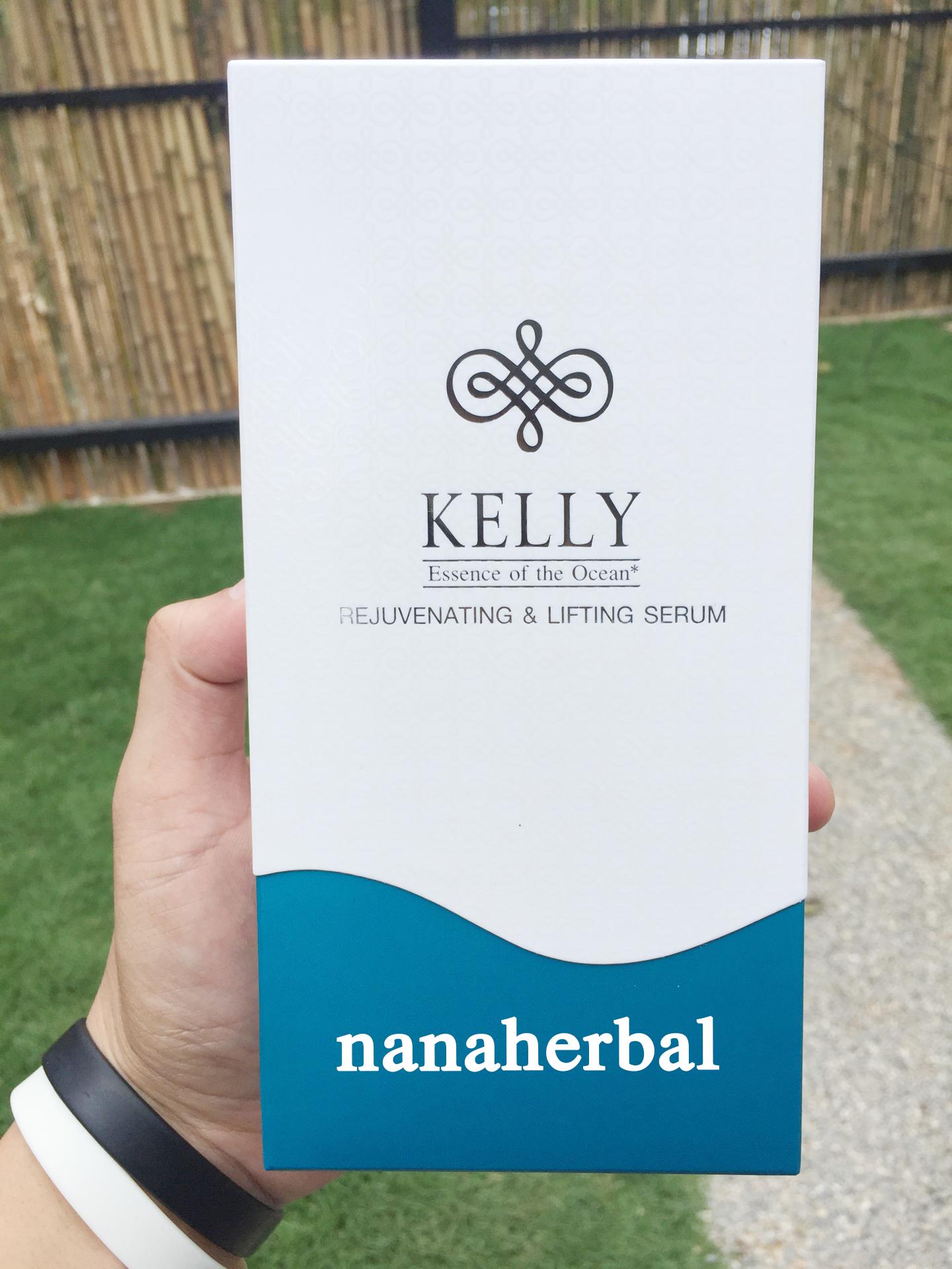 Kelly Serum เคลลี่เซรั่ม เติมเต็มร่องลึก ลดเรือนริ้วรอย 5 นาที