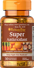 Puritan's Pride - Super Antioxidant 50 Softgels