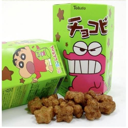 ช็อคโกบี Choco Bi ขนมชินจัง รสช็อคโกแลต
