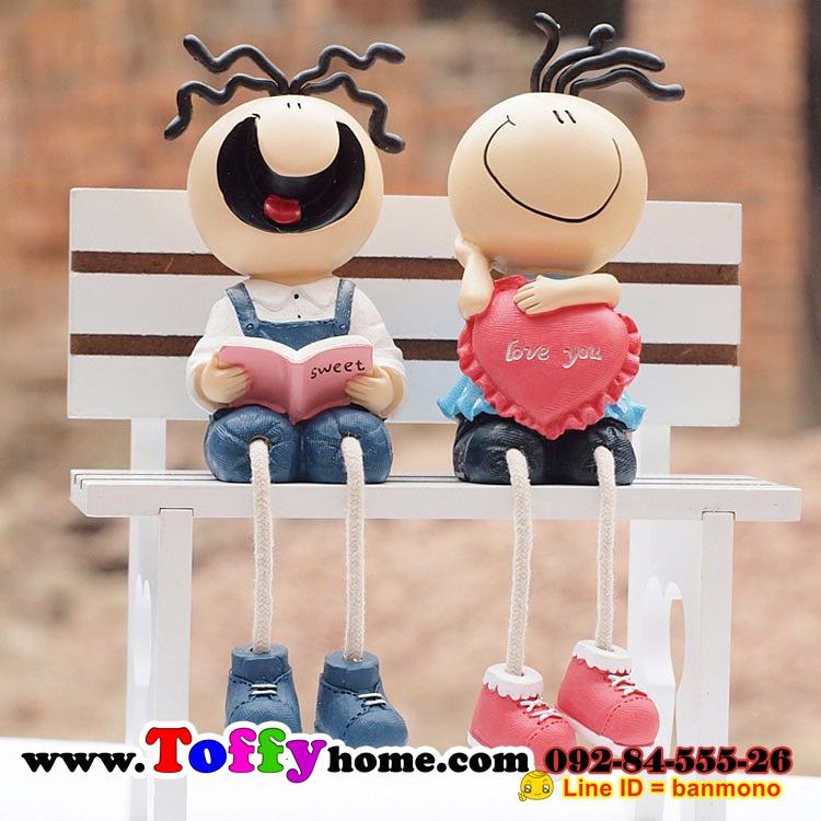 ตุ๊กตาห้อยขาเรซิ่นของแต่งบ้านน่ารักๆราคาถูกๆของขวัญของฝาก ขนาด 3.5*8*12 cm.