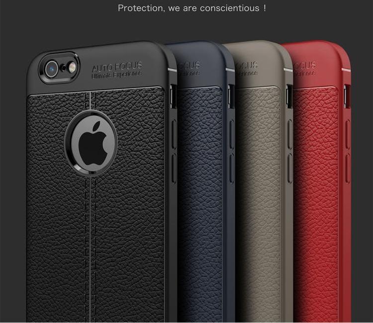 (025-1050)เคสมือถือไอโฟน Case iPhone 6/6S เคสนิ่มลายหนังแฟชั่นกันกระแทก