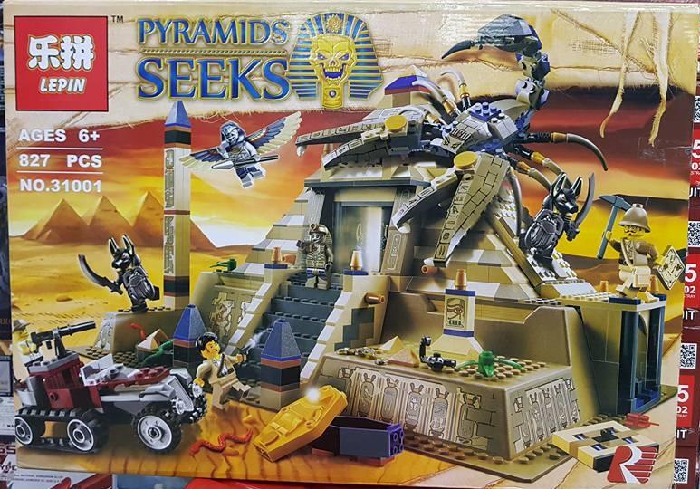 PYRAMIDS SEEKS 31001 (827ชิ้น)