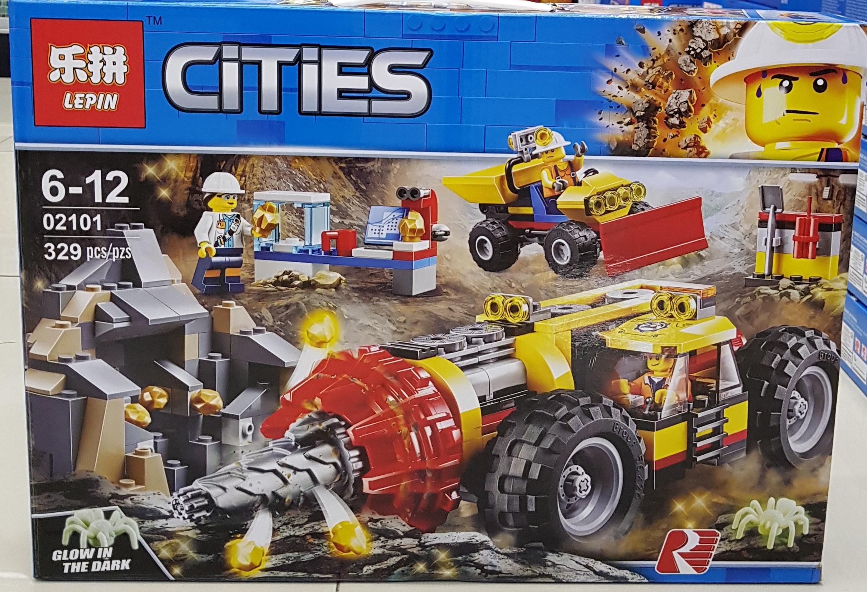 LEPIN CITIES 02101 (329ชิ้น)