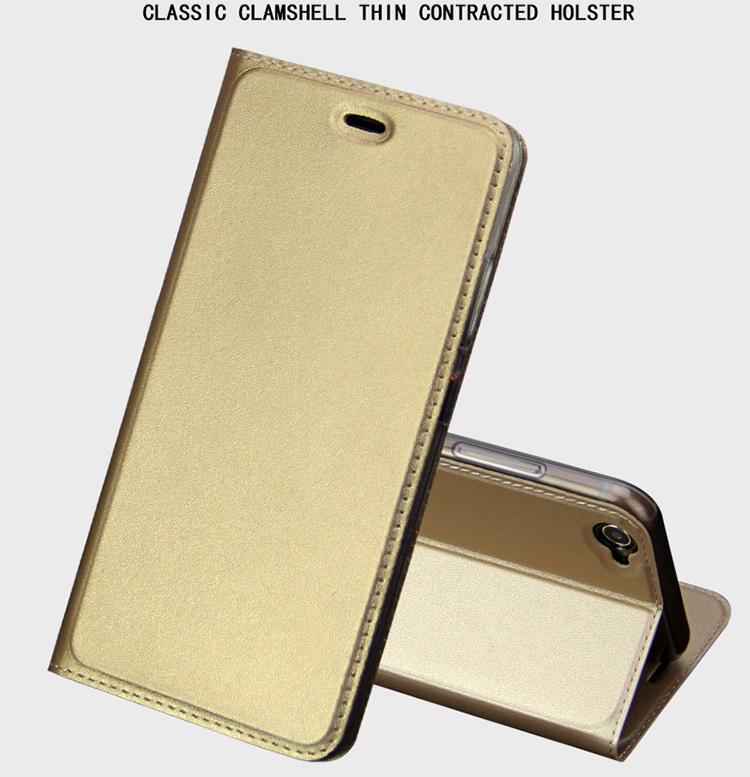 (569-006)เคสมือถือวีโว Vivo X9 Plus เคสนิ่มฝาพับ PU ลื่นกันน้ำ
