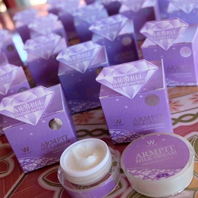 Armpit Milk Cream By Winkwhite อามพิท มิลค์ ครีม ครีมรักแร้ขาหนีบขาว สูตรใหม่ ! ขาวไว เห็นผลใน 5 วัน !!! จาก วิ้งค์ไวท์