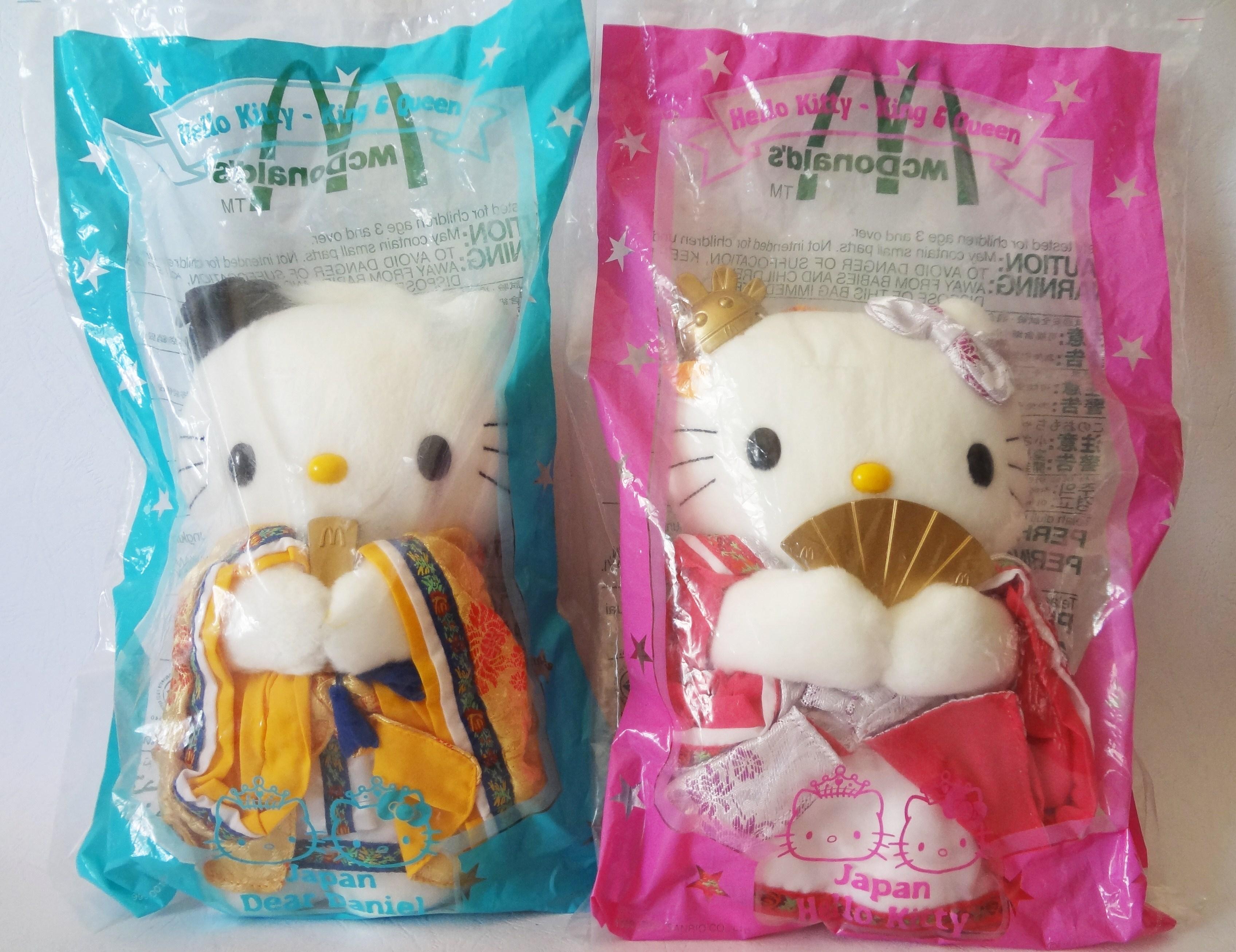 ตุ๊กตา Hello Kitty-King & Queen Japan