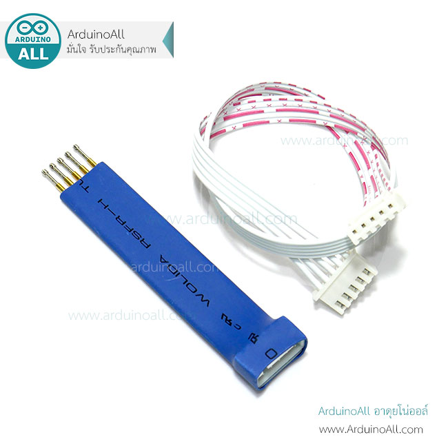 2 54mm-5P test pin spring pin 5 pin supports Arduino ESP8266 STM32 STM8 MCU  programming